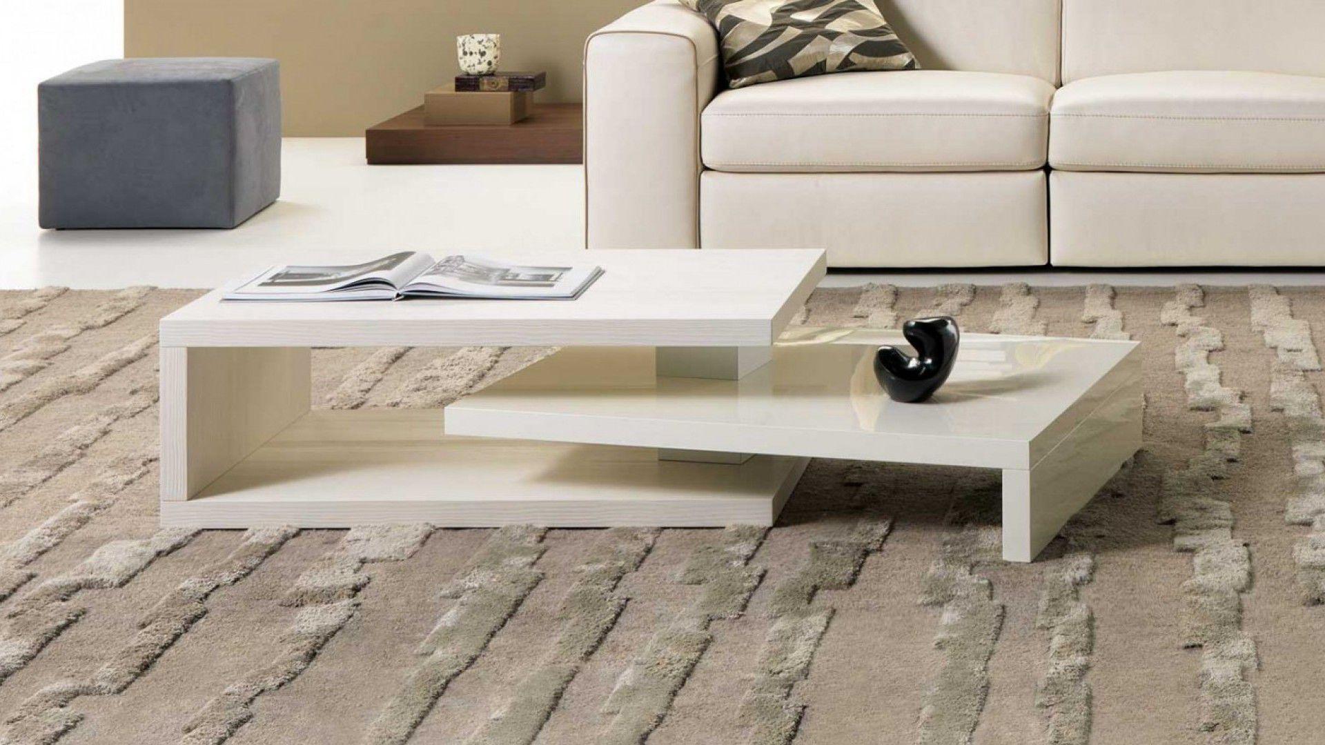 Table basse contemporaine / en bois / rectangulaire / modulable ...