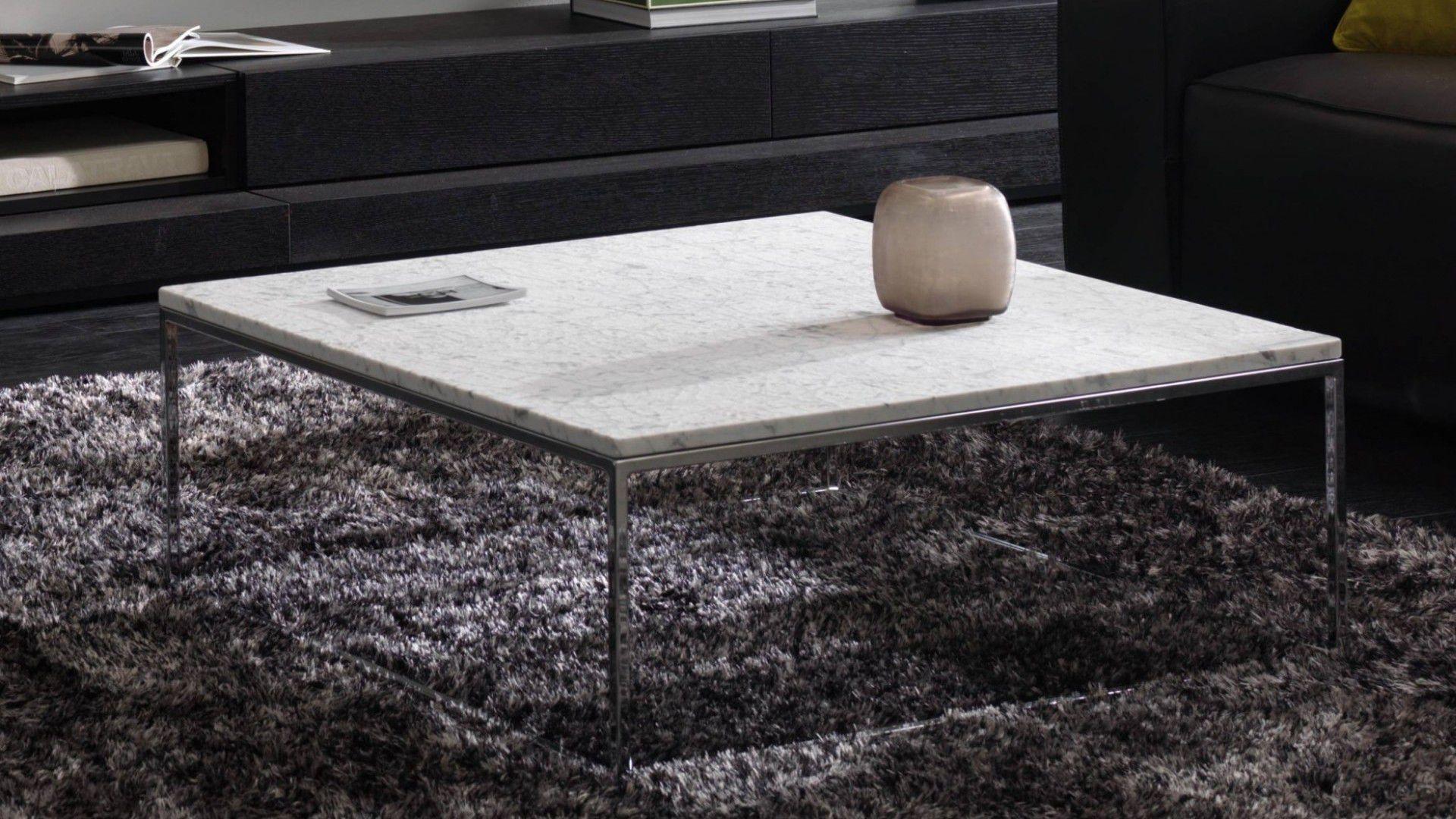 Table basse contemporaine / en bois / en métal / en marbre - CABARET ...