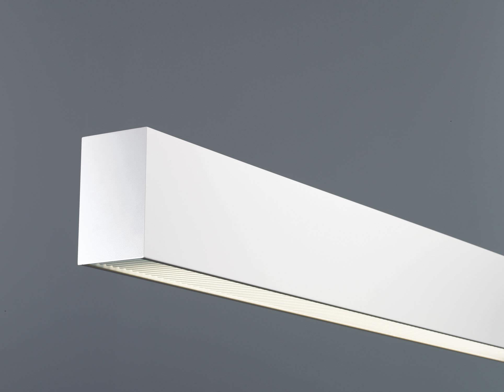 Luminaire Indirect dedans luminaire apparent / encastrable au mur / fluorescent / linéaire