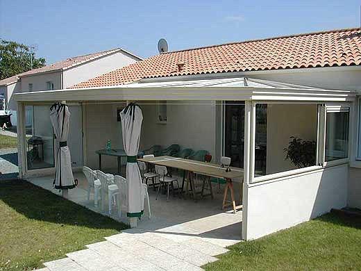 Auvent pour terrasse / en aluminium - AKENA VERANDAS