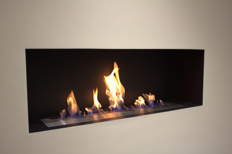 brûleur au bioéthanol rectangulaire - cvo1000 bioethanol ribbon fire