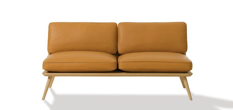 Top Canapé design scandinave / en cuir / par Jasper Morrison / 2  FE71