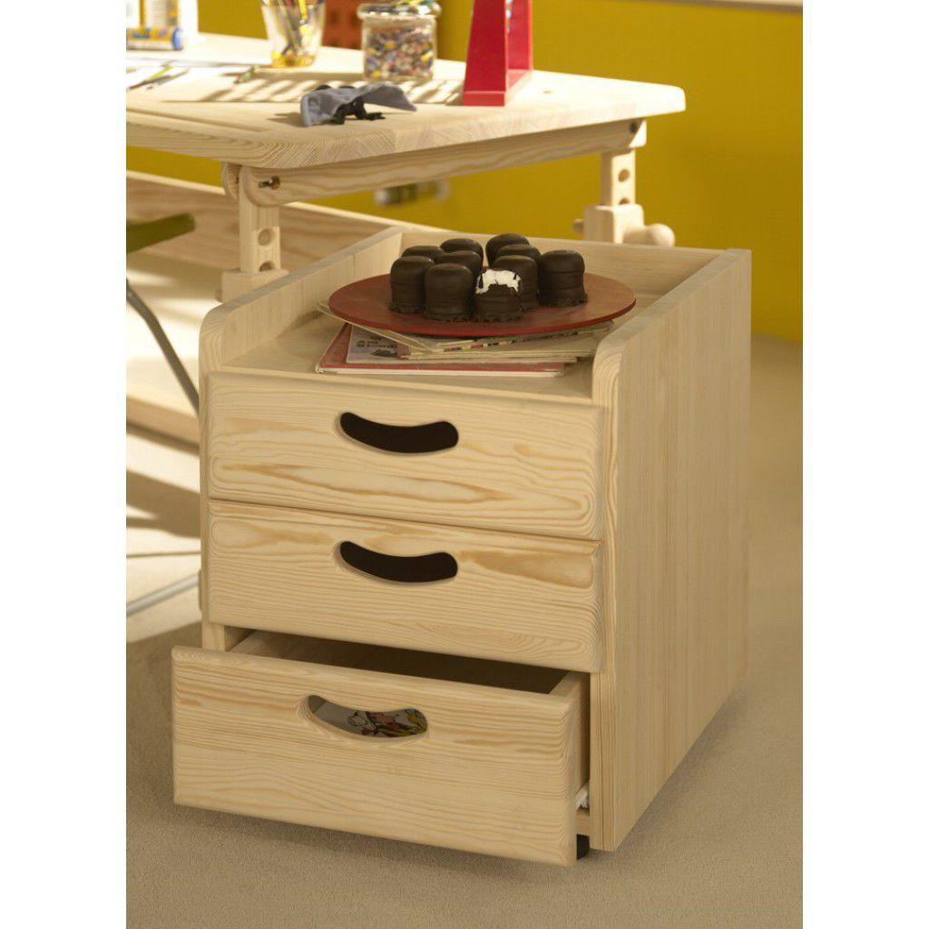 Bureau en bois contemporain pour enfant WOODPECKER
