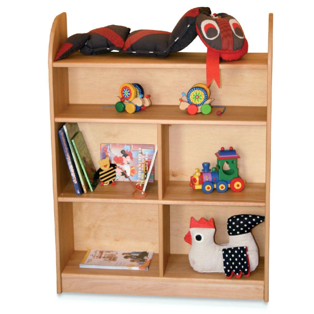 Biblioth Que Basse Contemporaine En Bois Pour Enfant Tommy  # Meuble Bibliotheque Bois