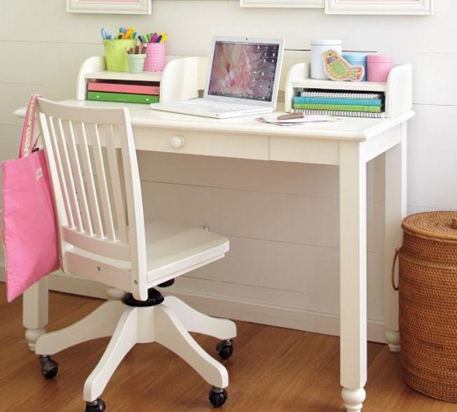 Chaise de bureau contemporaine roulettes pour enfant en