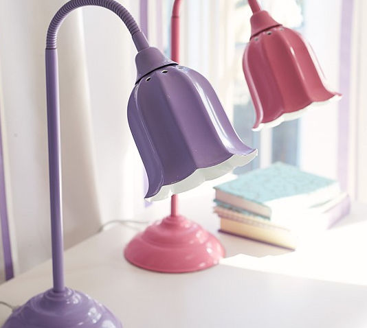Lampe De Bureau Contemporaine En Fer Hannah Pottery Barn Kids
