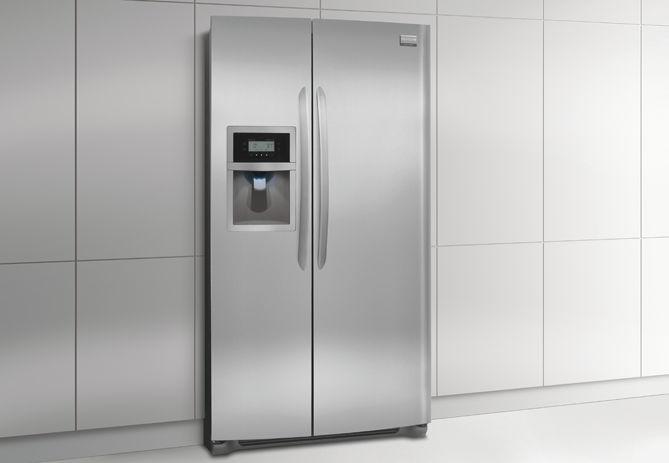 Refrigerateur Americain En Inox Ecologique Encastrable
