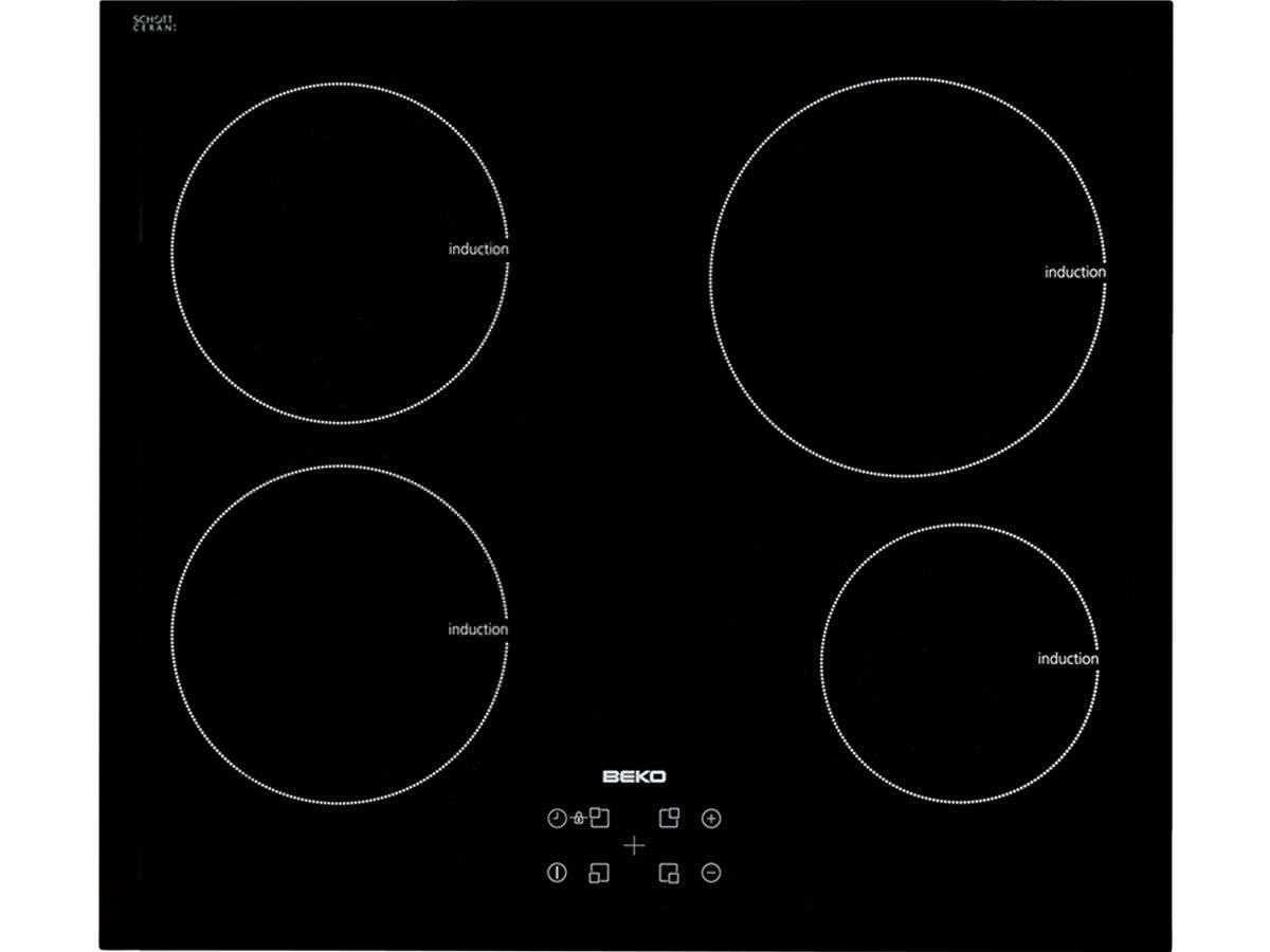 table de cuisson électrique / à induction - hii64400at - beko - vidéos