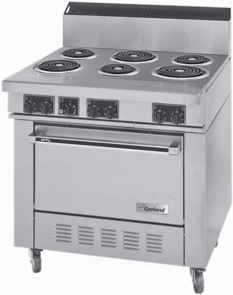 Cuisinière électrique / professionnelle - S680 SERIES - Garland