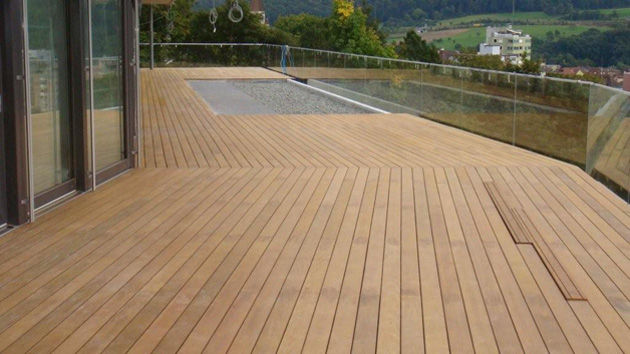 Lame De Terrasse En Bois  Clipsable  Terrasses Sur tanchit