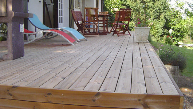 Lames De Terrasse En Bois / Clipsables - Terrasses Sur Sol Stable