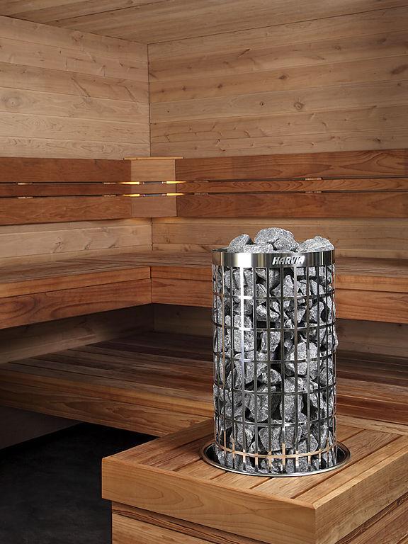 Sauna Poele Electrique poêle électrique / contemporain / en inox / pour sauna - cilindro