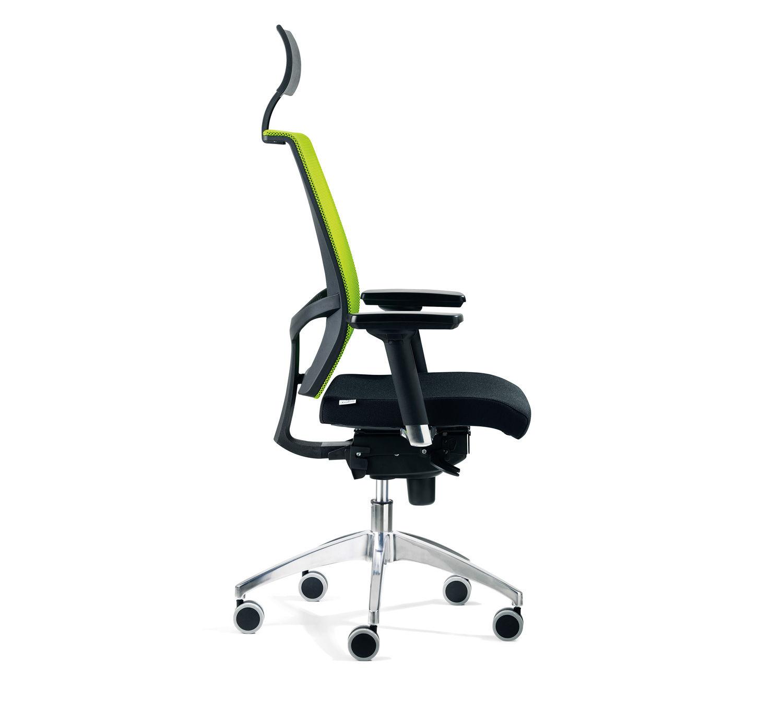 Fauteuil chaise de bureau noir inclinable