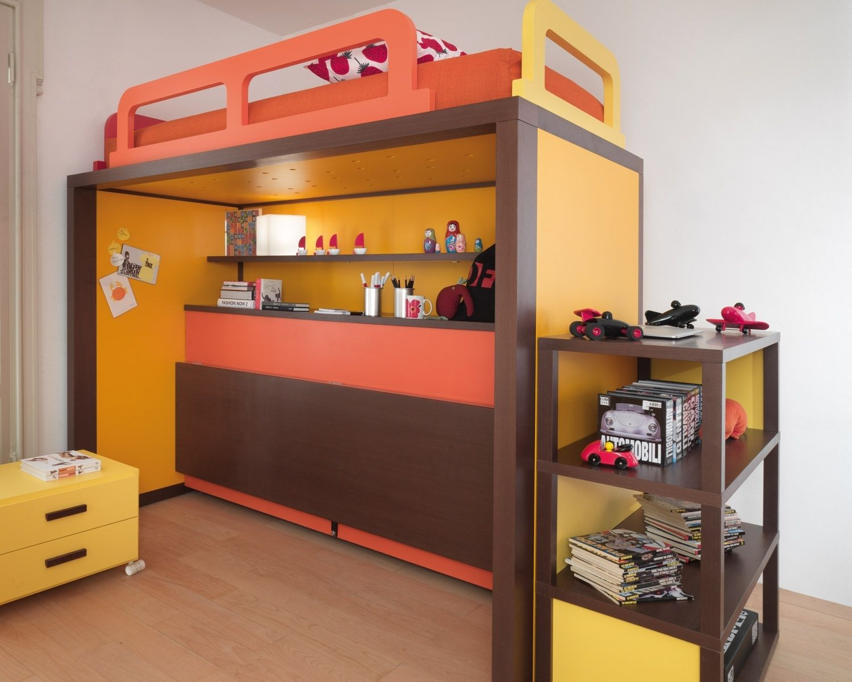 lit superpos original pour fille. dcoration chambre avec lit