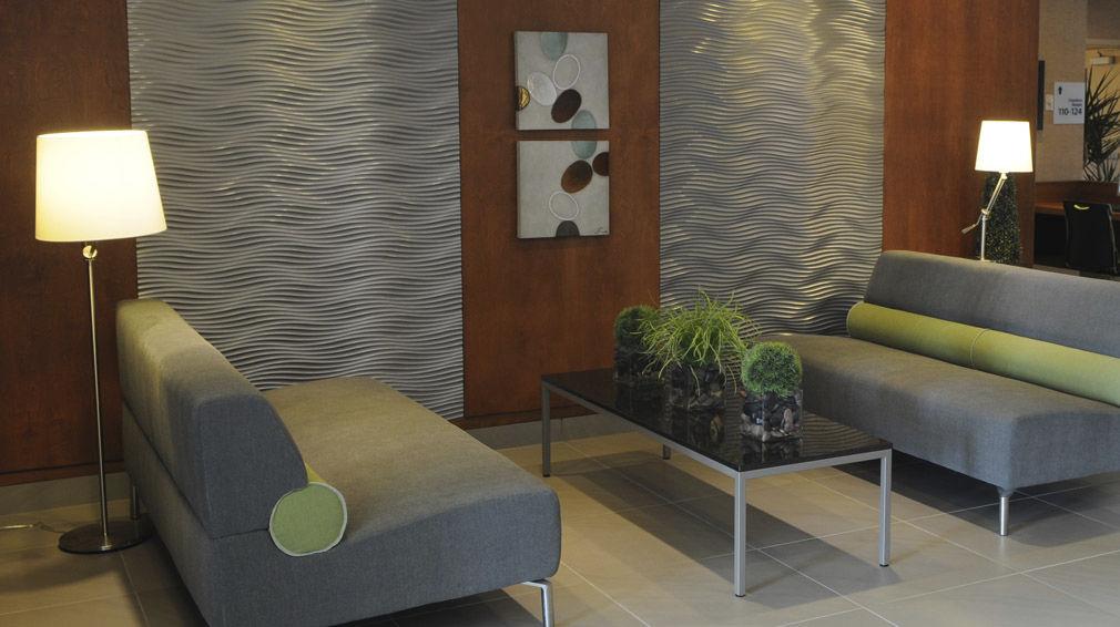 Panneau décoratif mural / en bois / 3D - D3DS03 VERTICAL - MUR design