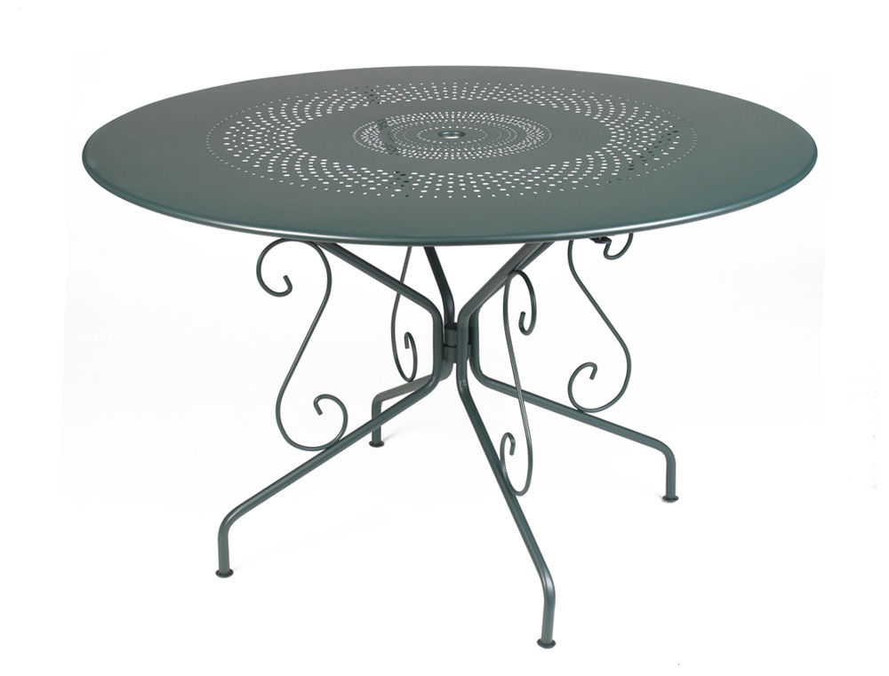 Emejing Table De Jardin Ronde En Fer Gifi Ideas - House ...