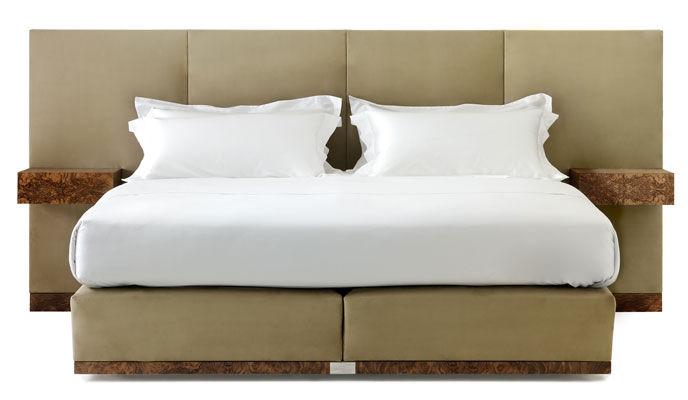 tete de lit 160 avec chevet integre - inspiration du blog