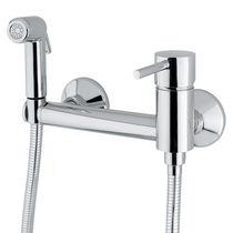 Mitigeur de douche / mural / en métal chromé / en ABS