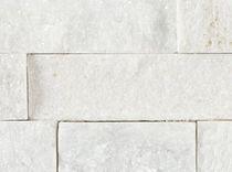 Plaquette de parement en pierre / texturée