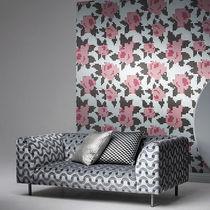 Tissu d'ameublement / mural / à motif / en polyester