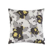 Coussin carré / à motif / en tissu