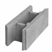 Bloc coffrant en béton / pour mur