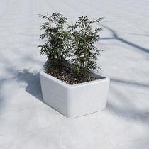 Jardinière en béton / contemporaine / pour espace public