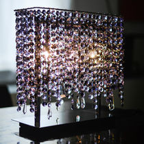 Lampe de table / contemporaine / en cristal / fait main