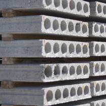 Dalle de plancher en béton / alvéolé / coupe-feu