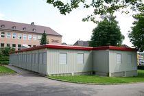 Construction en conteneurs pour bâtiment tertiaire / pour école / en acier galvanisé / modulable