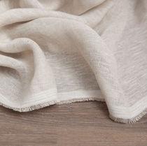 Tissu pour rideaux / uni / en lin