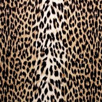 Tissu d'ameublement / imprimé peau de bête / en velours