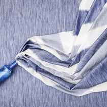 Tissu pour rideaux / à rayures / en polyester