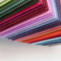 Tissu d'ameublement / uni / en coton / en polyester