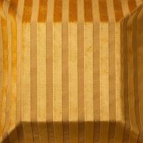 Tissu d'ameublement / à rayures / en polyester / en viscose