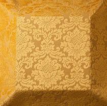 Tissu d'ameublement / damas / en polyester / en viscose