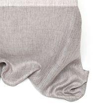 Voilage uni / en polyester / en lin