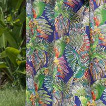 Tissu pour rideaux / d'ameublement / à motif animalier / en coton