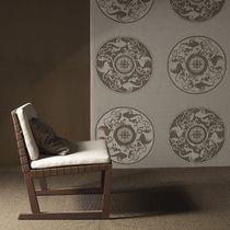 Tissu d'ameublement / à motif / en acrylique / pour extérieur