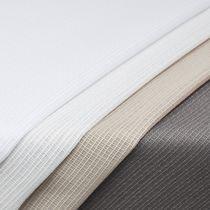 Toile pour rideaux / uni / en polyester / 100% recyclé
