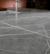Carrelage d'intérieur / au sol / en composite / velouté