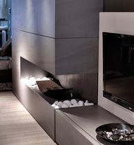 Panneau de revêtement / décoratif / composite / pour agencement intérieur