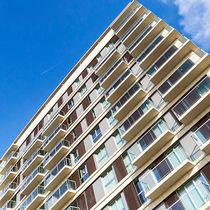 Bardage en composite / satiné / en panneaux / pour façade ventilée