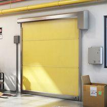 Porte industrielle enroulable / en acier galvanisé / en acier inoxydable / en PVC