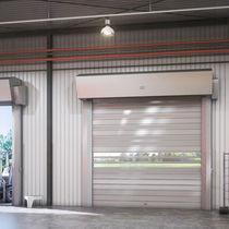 Porte industrielle enroulable / en aluminium / en acier galvanisé / automatique