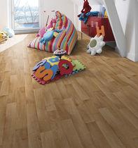 Revêtement de sol en vinyle / résidentiel / en rouleau / brillant