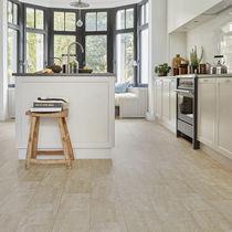Revêtement de sol en vinyle / résidentiel / en rouleau / lisse