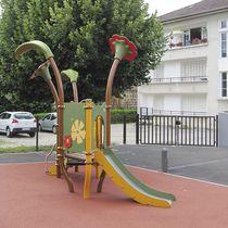 Toboggan droit / pour aire de jeux