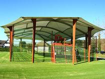 Abri pour espace public / pour terrain de sport
