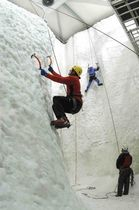 Mur d'escalade fixe / de glace artificielle